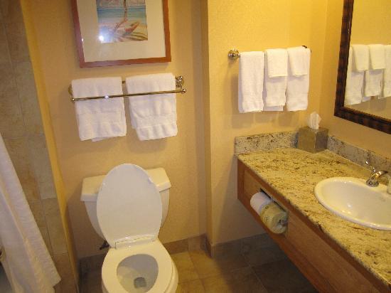 Hilton Hawaiian Village Waikiki Beach Resort: Tapa Tower Bathroom