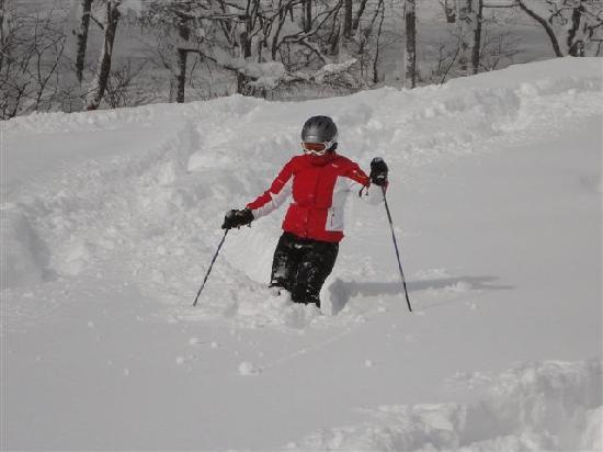 Oyado Furuya: Skiing at Suginohara