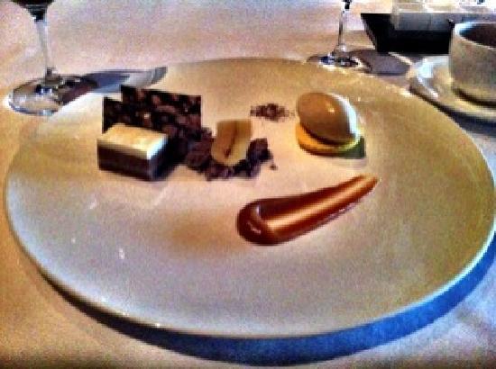 Canlis Restaurant: Banana Chocolate Desert