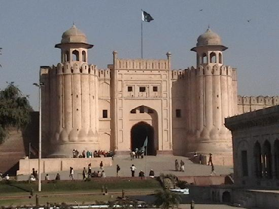 The Main Entrance to Lahore Fort