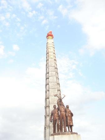 Tower of the Juche Idea: Juchee Turm