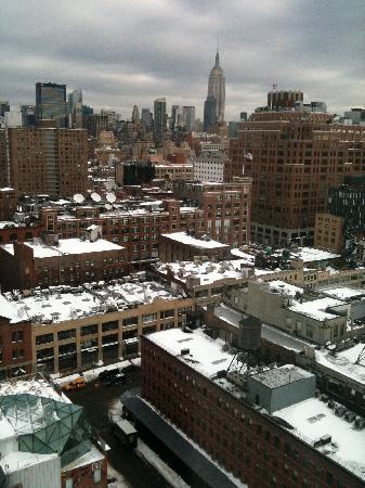 The Standard, High Line: a winter view