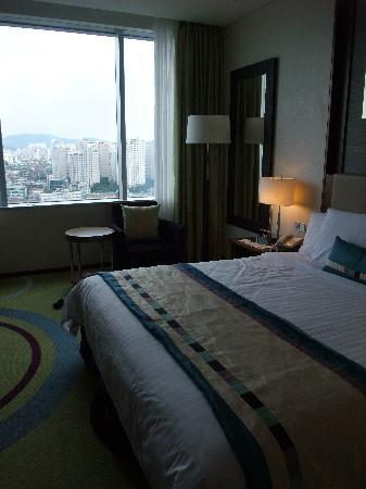 Courtyard by Marriott Seoul Times Square: デラックスダブル