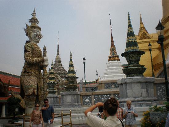 กรุงเทพมหานคร (กทม.), ไทย: 王宮