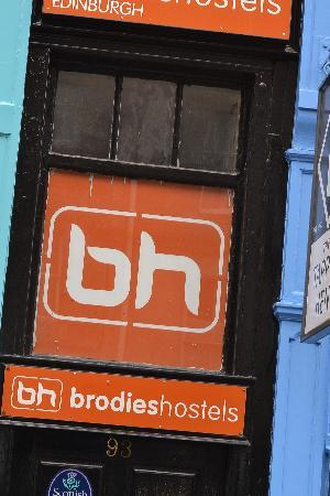 Brodie's Hostel: street photo