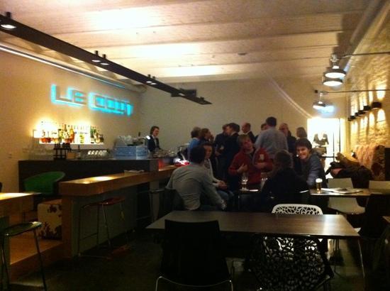Teaching Hotel Chateau Bethlehem: le coin bar