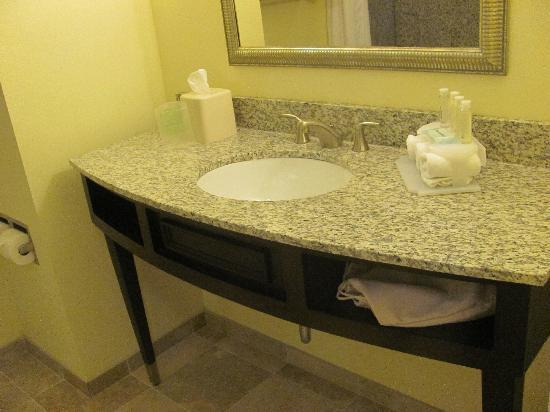 Holiday Inn Express Hotel & Suites Saint Augustine North: great bathroom area