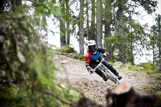 Hafjell Alpinsenter: Piers railing one of the amazing berms