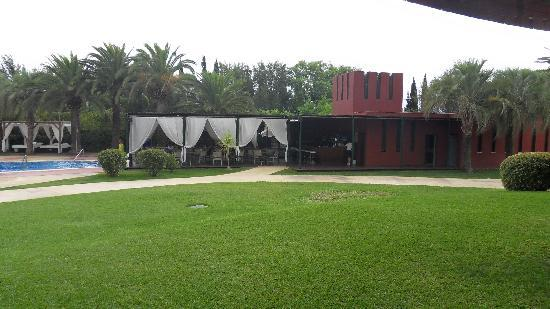 Silken Al-Andalus Palace Hotel: bar exterieur