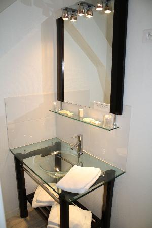 Hotel restaurant - La Promenade: Le lavabo moderne