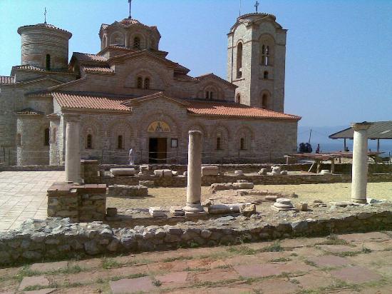 Ohrid, สาธารณรัฐมาซิโดเนีย: Sveti Kliment church