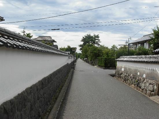 Hagi, Japan: 白壁