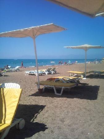 Belkon Club Hotel: Lovely beach
