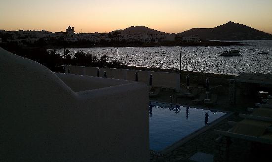 Kosmitis Hotel: View from Balcony