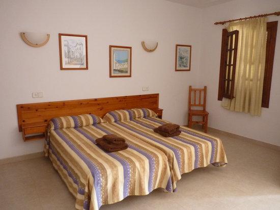 El Bergantin Menorca Club: camas
