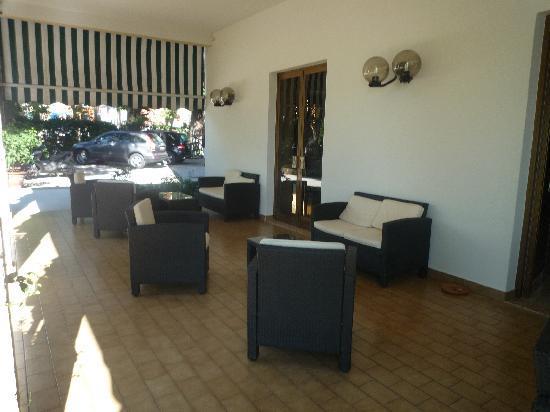 Hotel Terminus: Communal area
