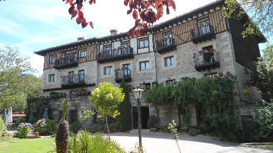La Alberca, Spain: the hotel facade