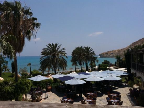 Columbia Beach Resort Pissouri : view from main pool