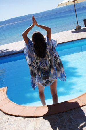 Galavanting Goddess Experience: Pool and private beach - arrive by helicopter, boat or road