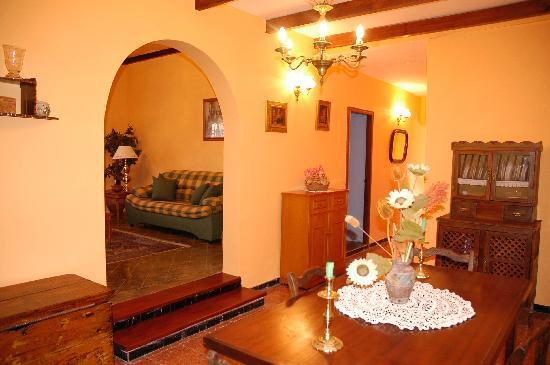 Casa El Zumacal: Interior