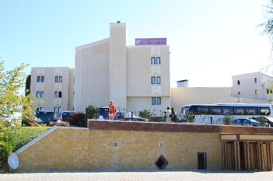 Ortahisar, Turkey: vue de l'hotel