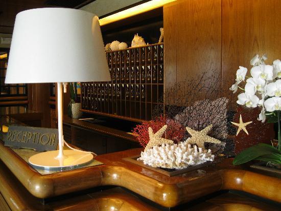 Hotel International: Reception