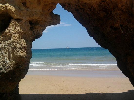 Praia da Rocha, Portugal: Arco natural