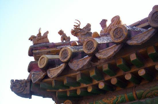 พิพิธภัณฑ์พระราชวัง: rooftop details