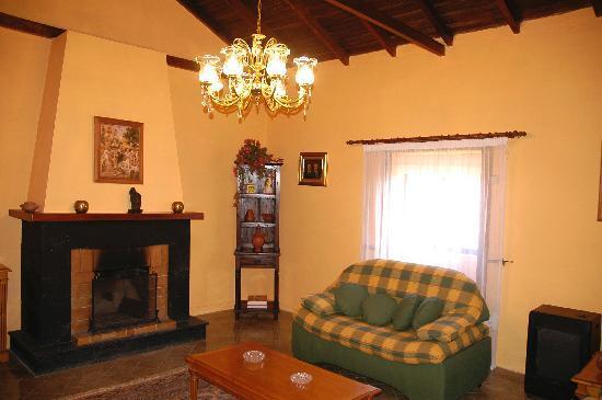 Casa El Zumacal: Salón