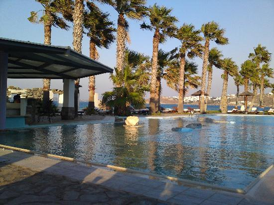 Astir of Paros: The Pool Area