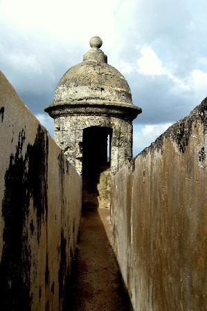 View of Castillo de San Cristobal