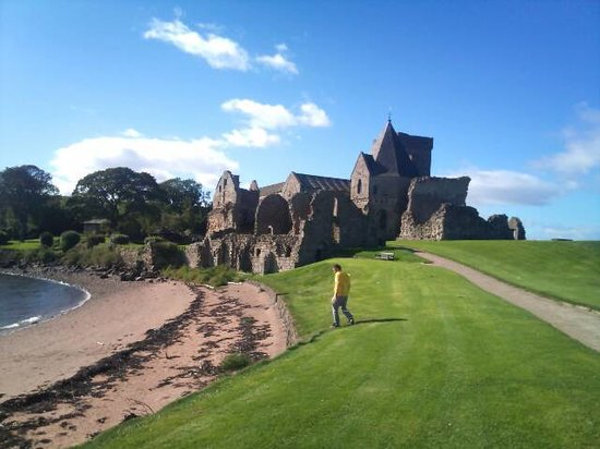 East Linton, UK: Inchcolm Abbey