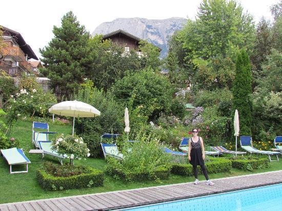 Hotel Heubad: the pool & the garden 3