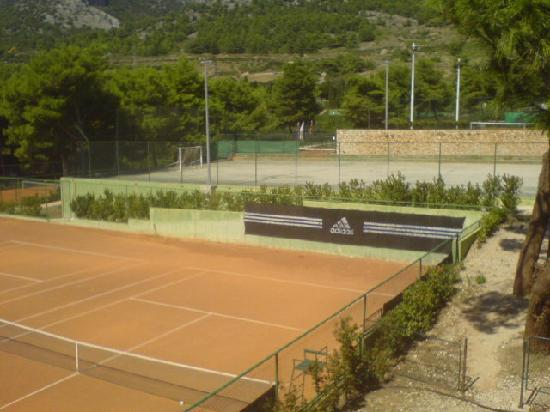 Bluesun Resort Bonaca: tennis