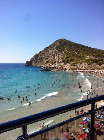 Hotel La Cala: view from Balcony