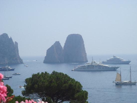 Hotel Weber Ambassador Capri: Vista dalla Hall