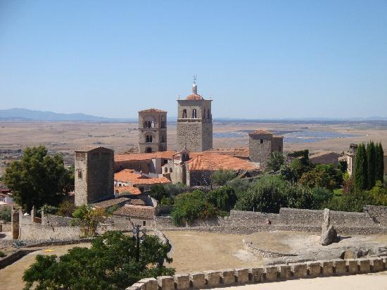 Hostal San Miguel: View from the castle