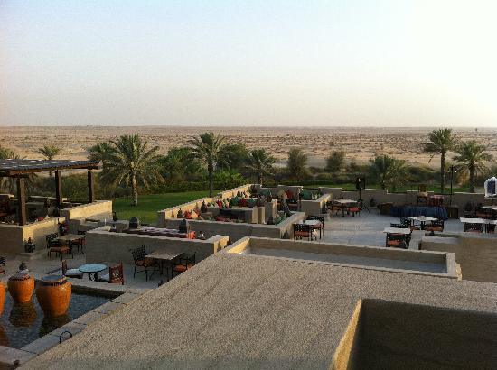 Bab Al Shams Desert Resort & Spa: Great view from Al Sarab Rooftop Lounge
