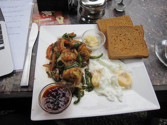 Funky Buddha Kathmandu: Delicious breakfast