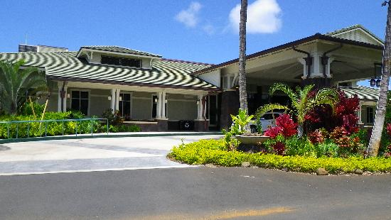 The Westin Princeville Ocean Resort Villas: Arriving there