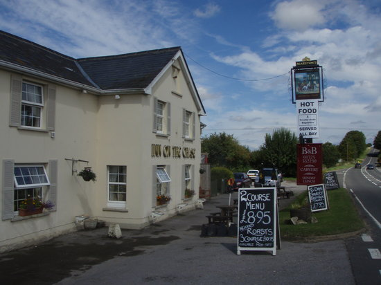 Sixpenny Handley, UK: Inn on the Chase, Highway A354, Cashmoor