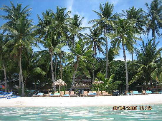 Blue Mango Inn: this is your home - view from the water