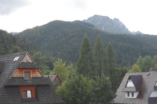 Grand Nosalowy Dwor: View From our balcony