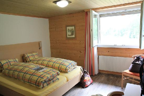 Hotel des Alpes: Double room