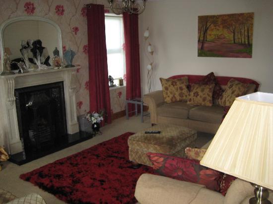 Rushfield House B&B: Guest living room