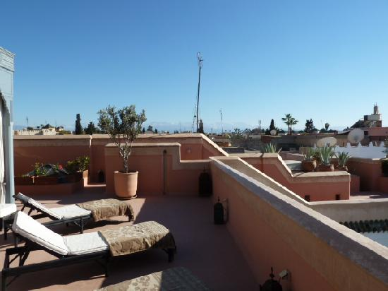 Riad Samarkand: View from the roof terrace