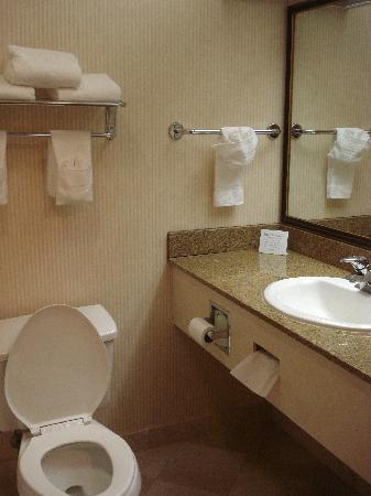Quality Inn & Suites -- South San Francisco: Bathroom