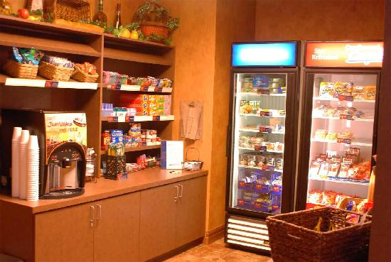 Candlewood Suites - Tulsa: Need a snack?  Visit the Candlewood Cupboard