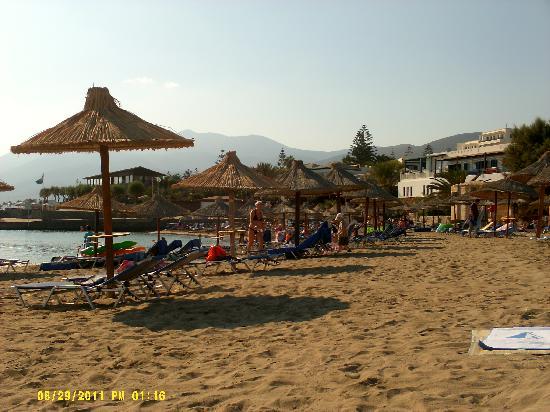 Arminda Hotel and SPA: beach