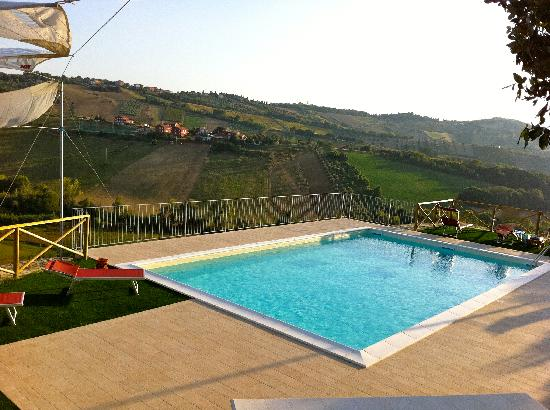 Country House Pecora Nera: Pool